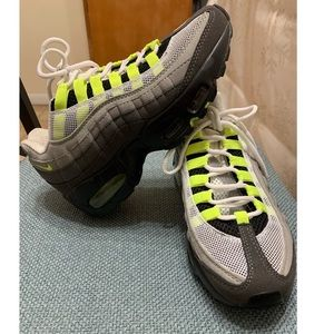 Women's Air Max 95 Neon green & gray